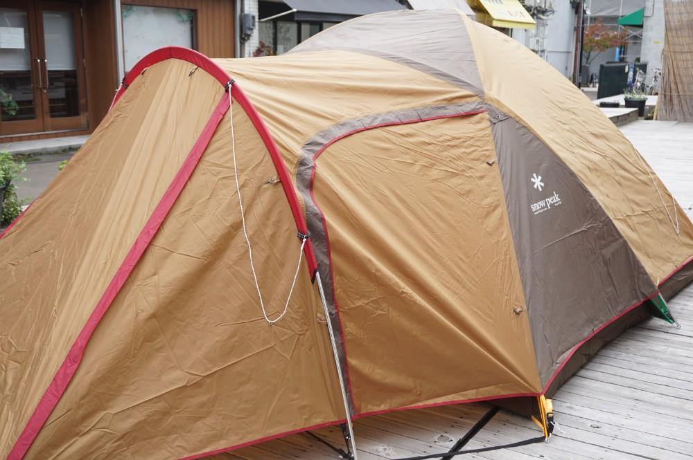 スノーピークのテントのエントリーモデルについて
